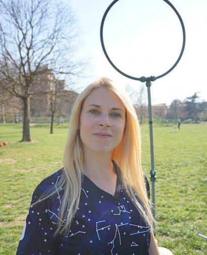 Alice, giocatrice e allenatrice di quidditch